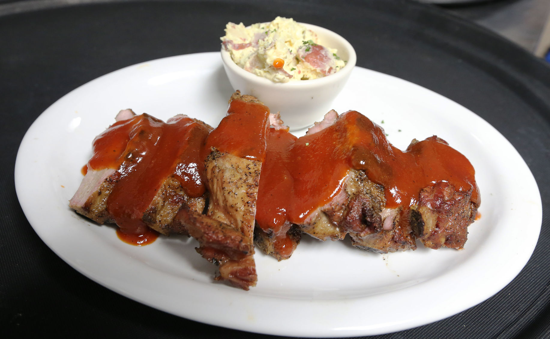 Stock Cuisine Saint Priest Pete Tittl Moving On Up At Bbq Factory Steakhouse Food