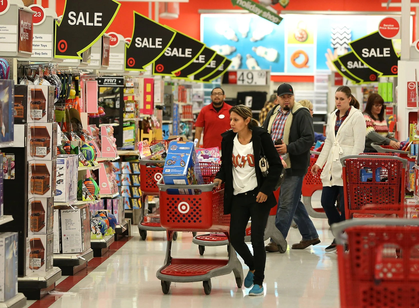 Black Friday Shop Shop Til You Drop Black Friday Brings In Heavy Crowds To