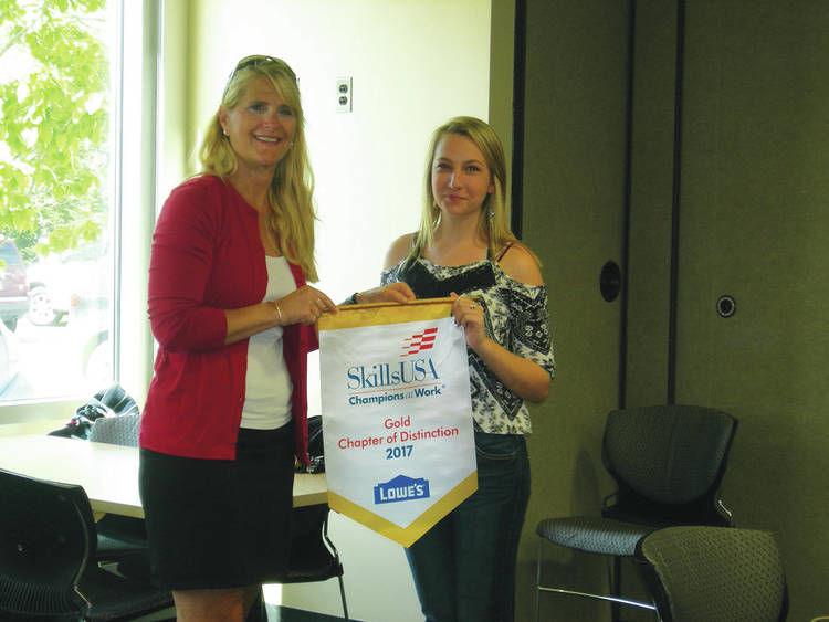 NCCC SkillsUSA Chapter Receives Chapter of Distinction Award