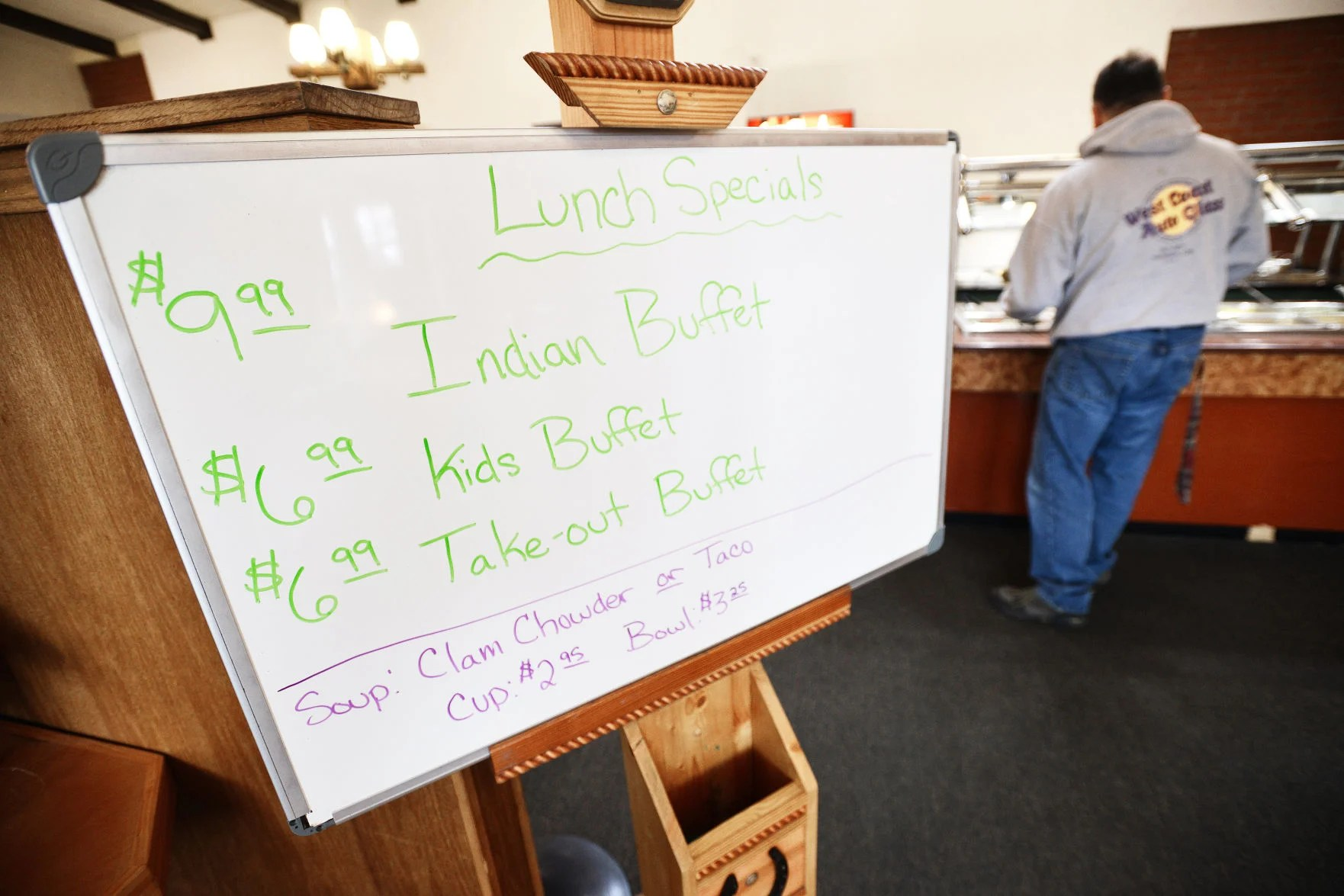 Bufet Mini Indian Buffet Moves Into Stockman S Steakhouse Local News