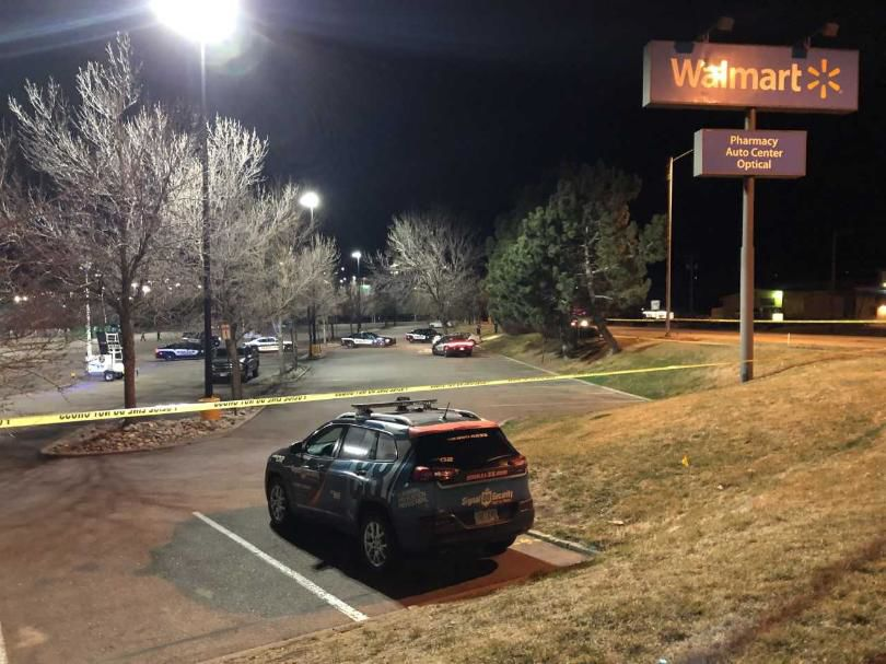 Woman found shot to death at southwest Colorado Springs Walmart