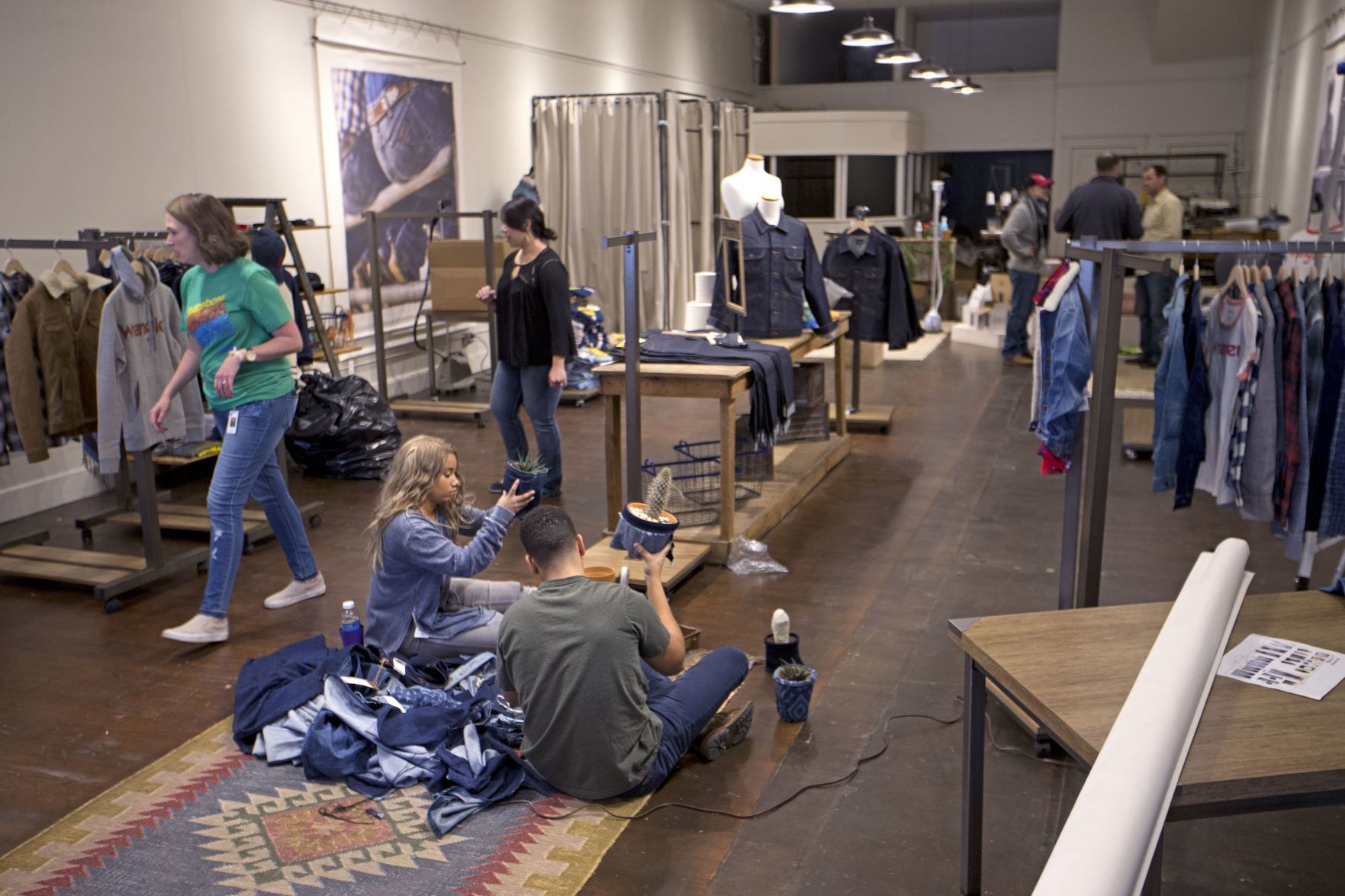 Greensboro Nc Furniture Store Wrangler Set To Open Downtown Pop Up Store Friday Video Local