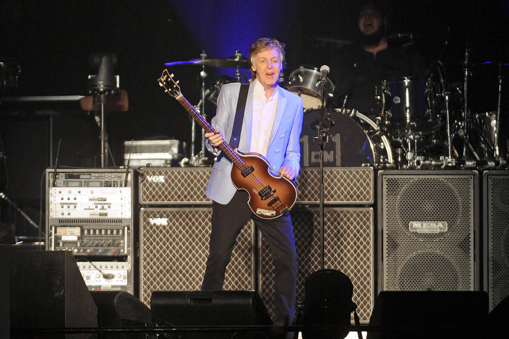 Paul McCartney rocks Infinite Energy Arena Entertainment