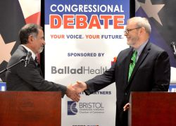 Special Bhc Congressional Debate Griffith Square Off Debate At Bristol Hotel Who Won Debate Tonight Uk Who Wins Debate Tonight