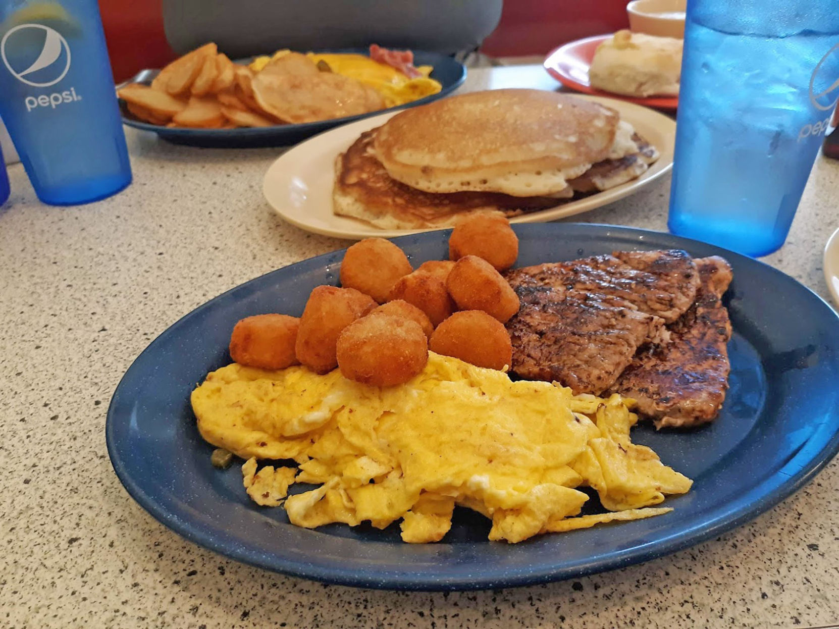 Breakfast All Day Bluff City Diner Offers Breakfast All Day And Much More