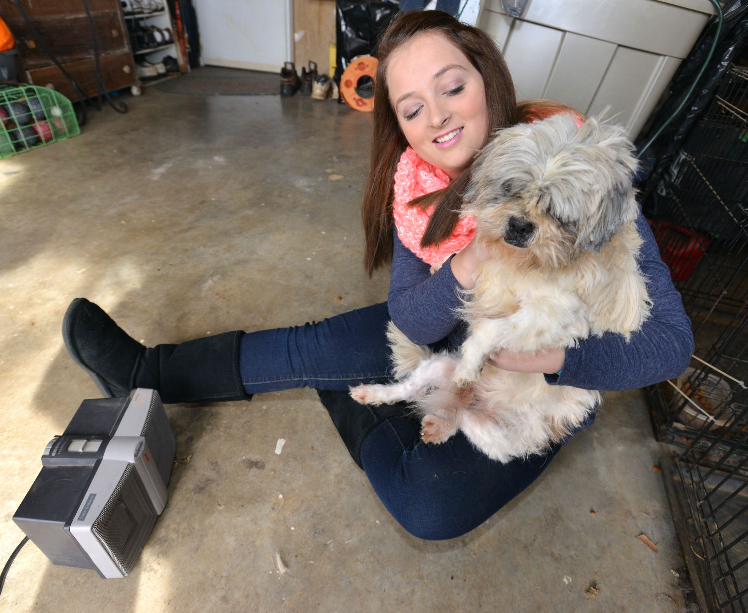 Garage Heater For Dogs Winter Weather Holiday Season Pose Number Of Threats To Pets