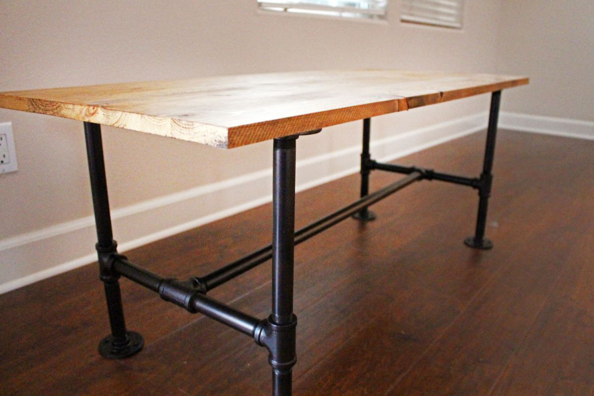 Build Your Own End Table Diy Make Your Own Stylish Metal Pipe Coffee Table At