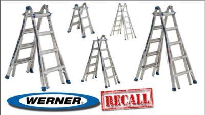 Werner Recalls 78000 Ladders News Ktbscom