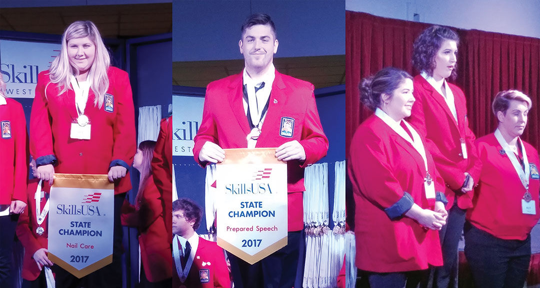SWVCTC students win gold and silver medals at Skills USA competition