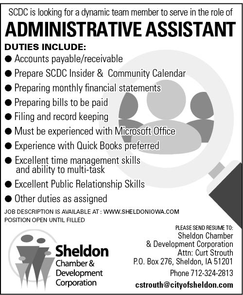Administrative Assistant at SCDC Administrative, Clerical