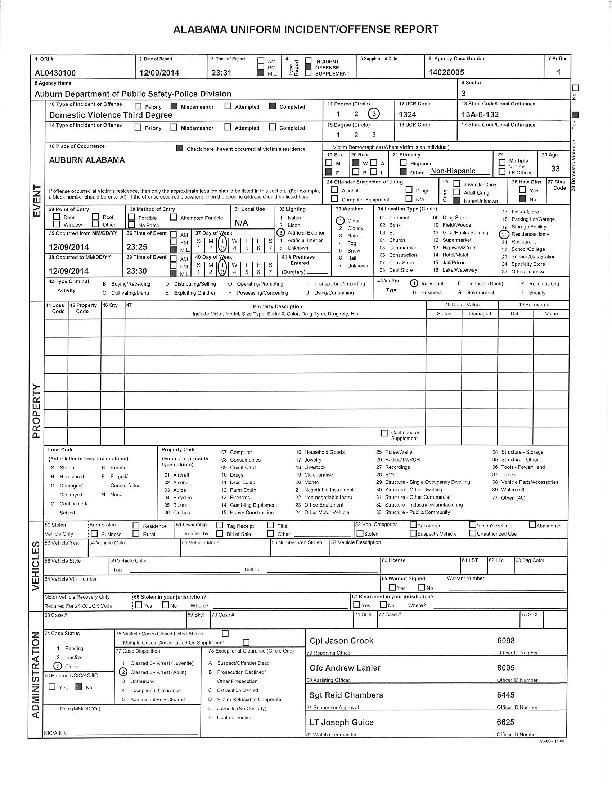 dc incident report
