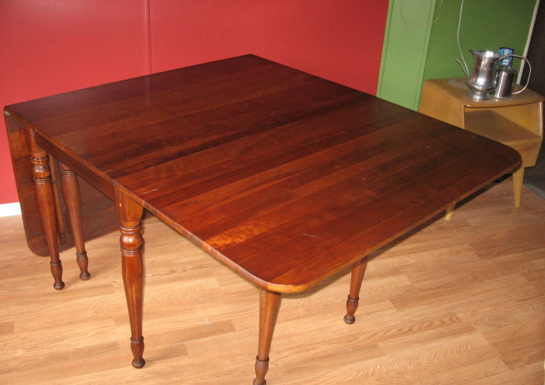 What S It Worth Drop Leaf Table Back Scratcher Richmond Com