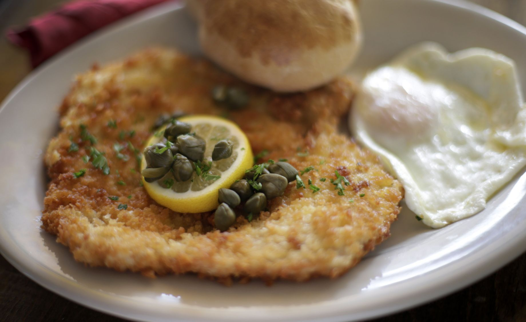 Schnitzel Restaurant Cafe Rustika Is Now A Full Blown Schnitzel Bar With A Diverse