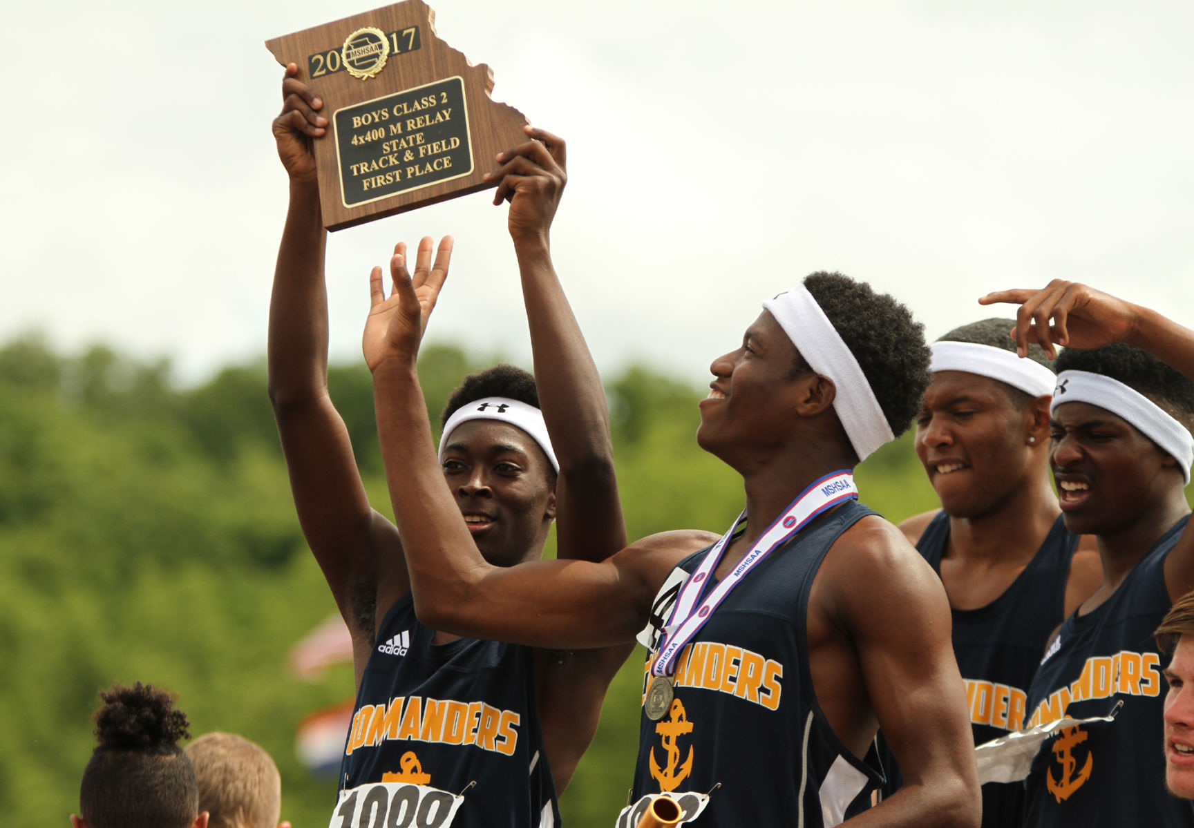 Cleveland clinches state team title by winning final two ...