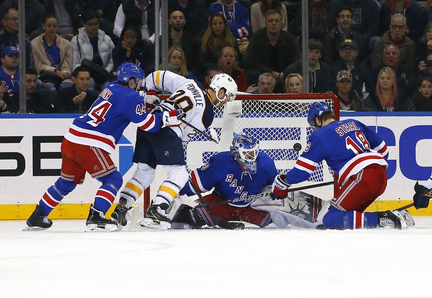 Marc Duchesne Hockey Nhl Lundqvist Vesey Lead Rangers Past Sabres Hockey Stltoday