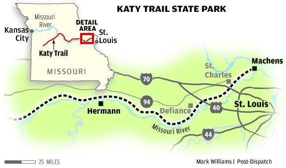 Katy Trail Metro stltoday