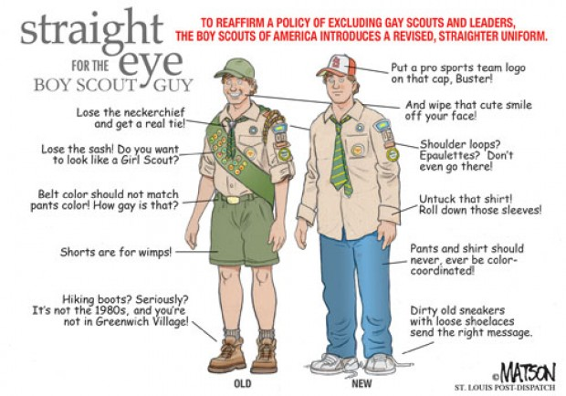 Donu0027t think a uniform change is in the offing Boy Scout - boy scout medical form
