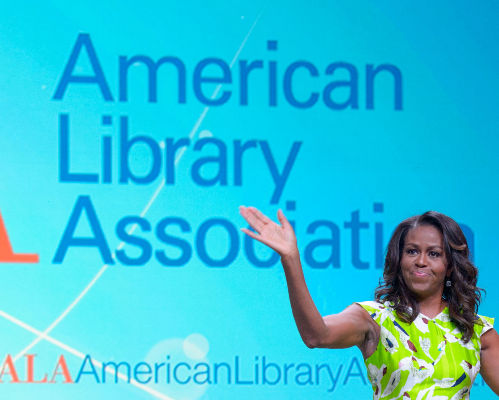 American Library Association Photos Former First Lady Michelle Obama Highlights Opening