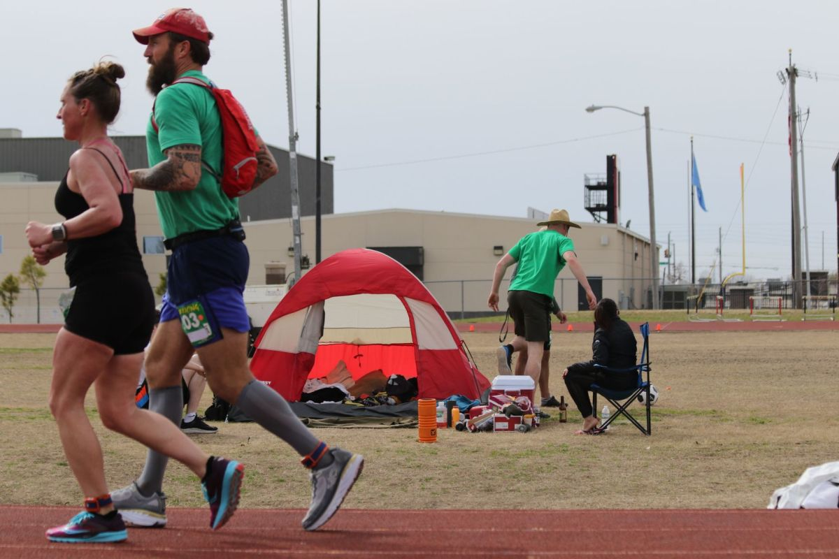 Ultra Tough 100 Mile World Record Holder Visits Owasso