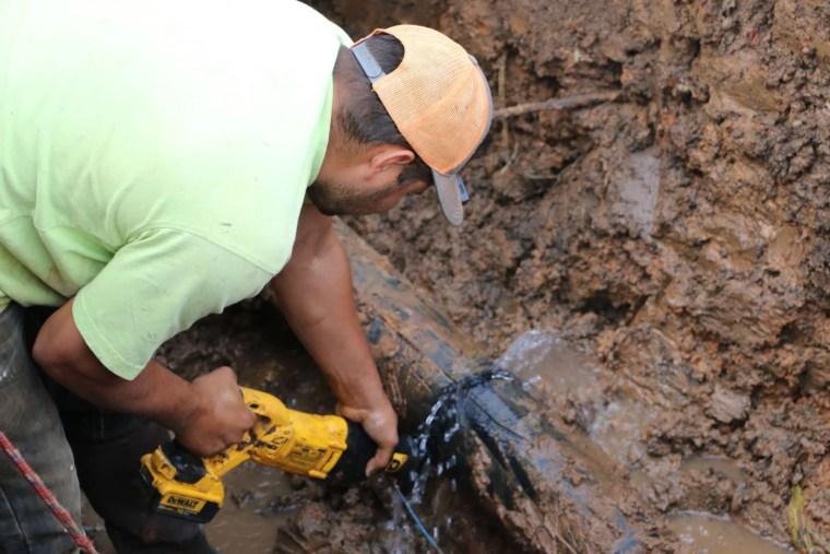 Water lines near downtown Coweta receive upgrades Tulsa