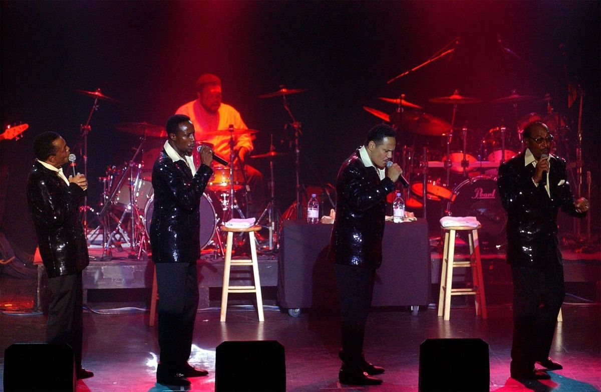 Four Tops Spinning To Hard Rock Music Tulsaworldcom