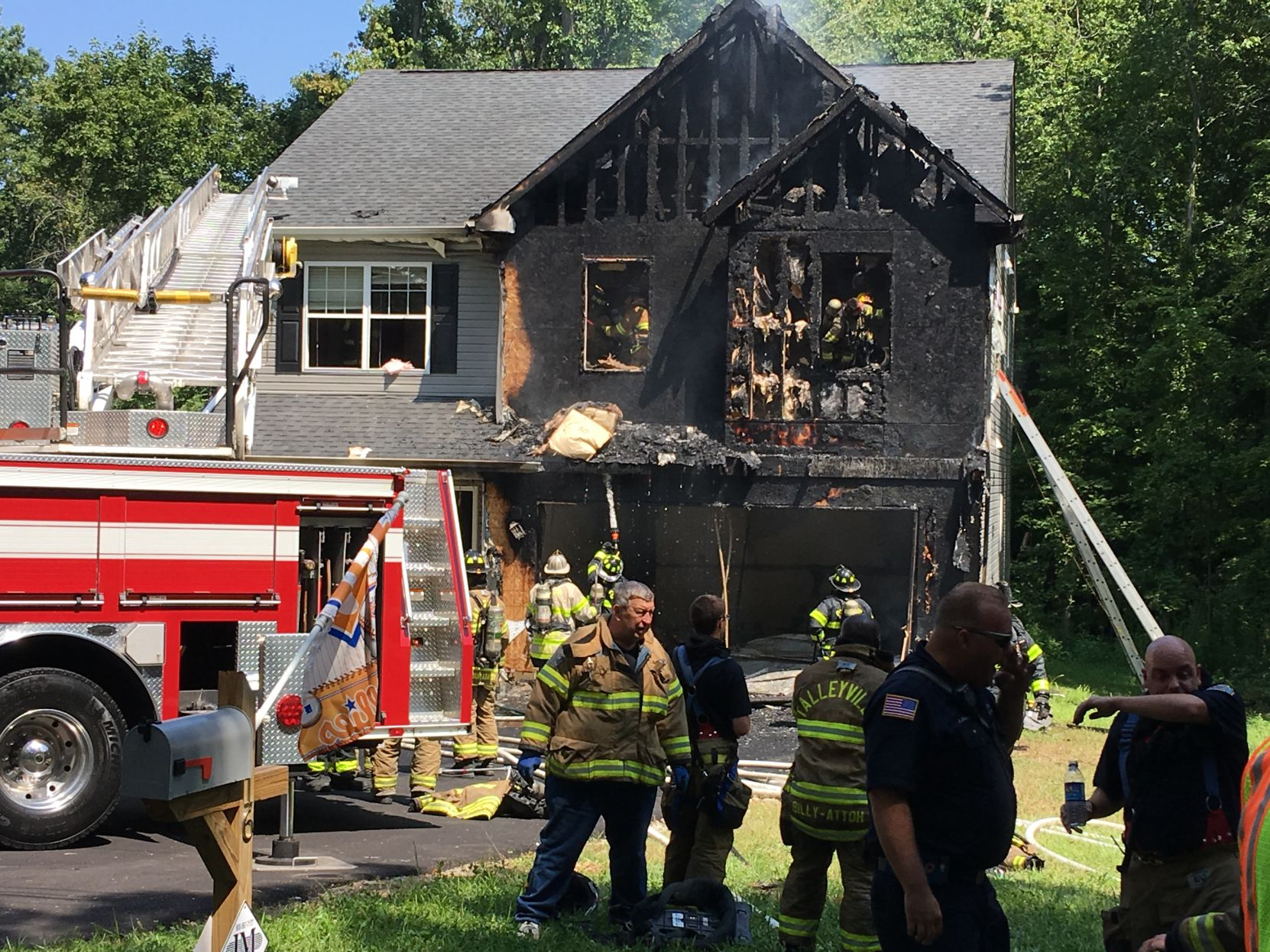 Seemly Fire Heavily Damages Claymont House Fire Heavily Damages Claymont House Latest From Wdel News John Schnatter House Nj John Schnatter House Tour curbed John Schnatter House