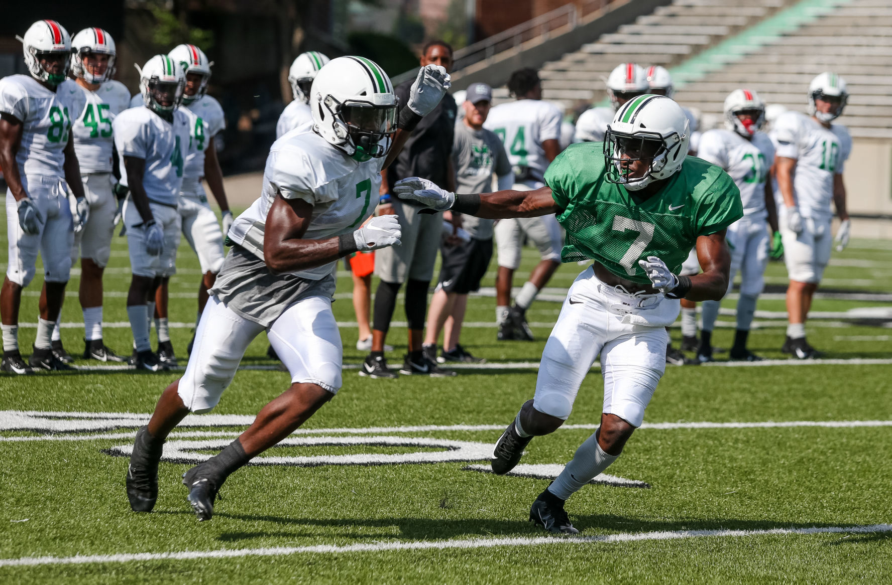 Obi Herd Marshall Wr Obi Obialo Ready To Lend A Bigger Hand This Season