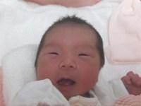 2017年9月12日生まれ 琉愛ちゃん