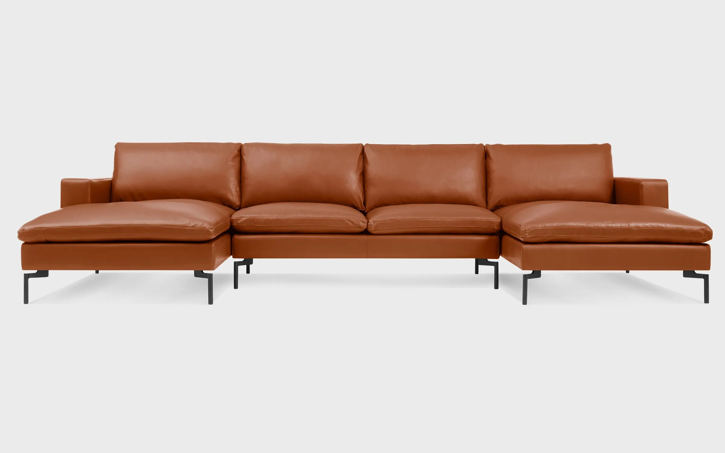 U Sofa New Standard U Shaped Leather Sectional Sofa