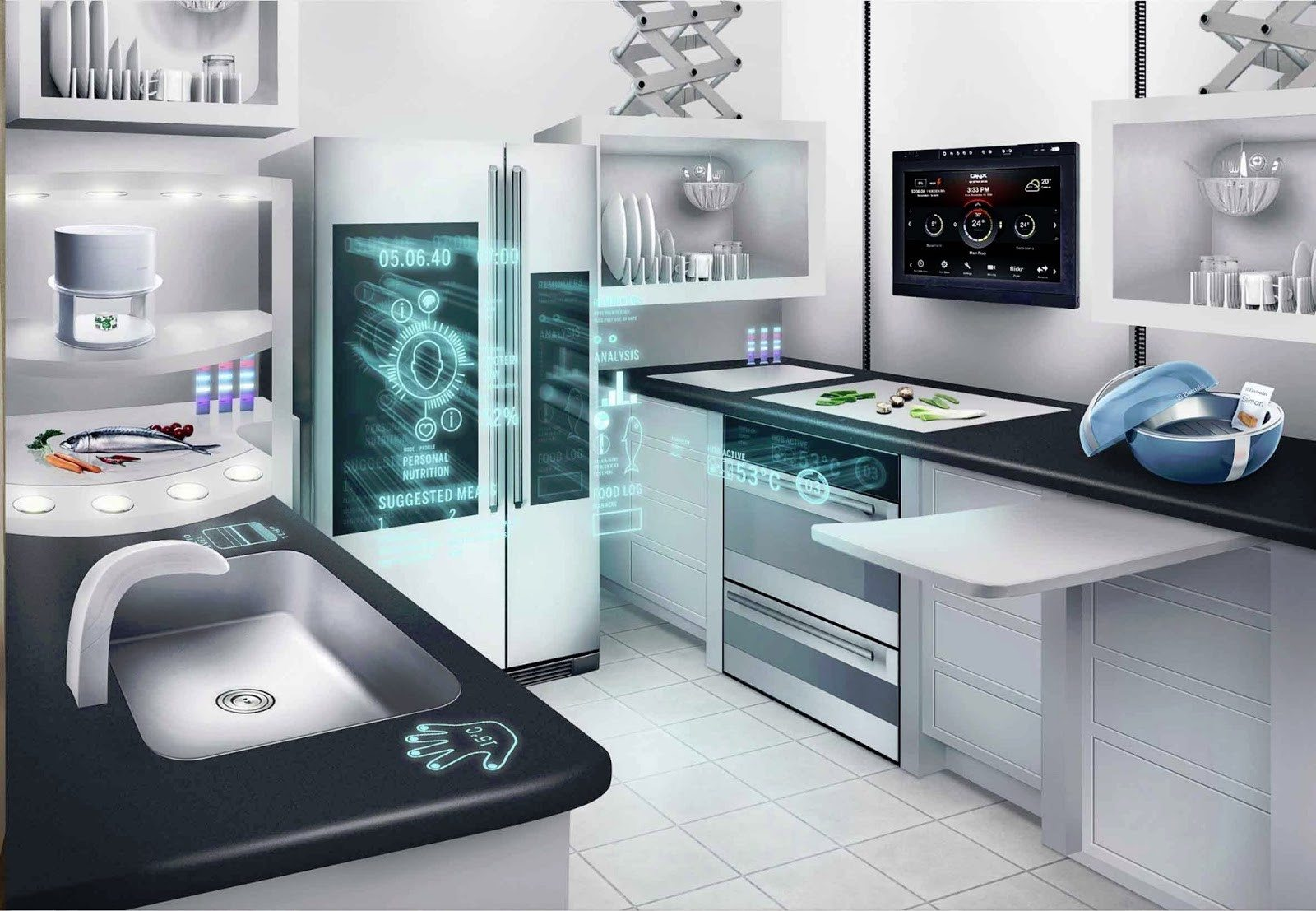 Countertop Cooking Appliances Kitchen Appliances Of The Future What Can We Expect