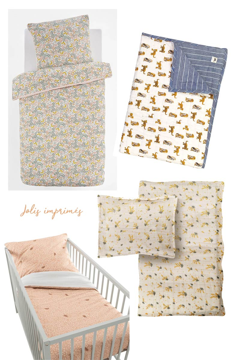 Du Linge De Lit Enfant Blueberry Home