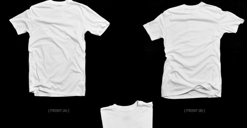 A Collection of Free T Shirt Templates - blueblots