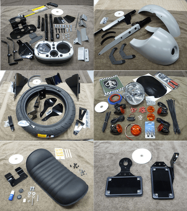 honda shadow 750 cafe racer kit