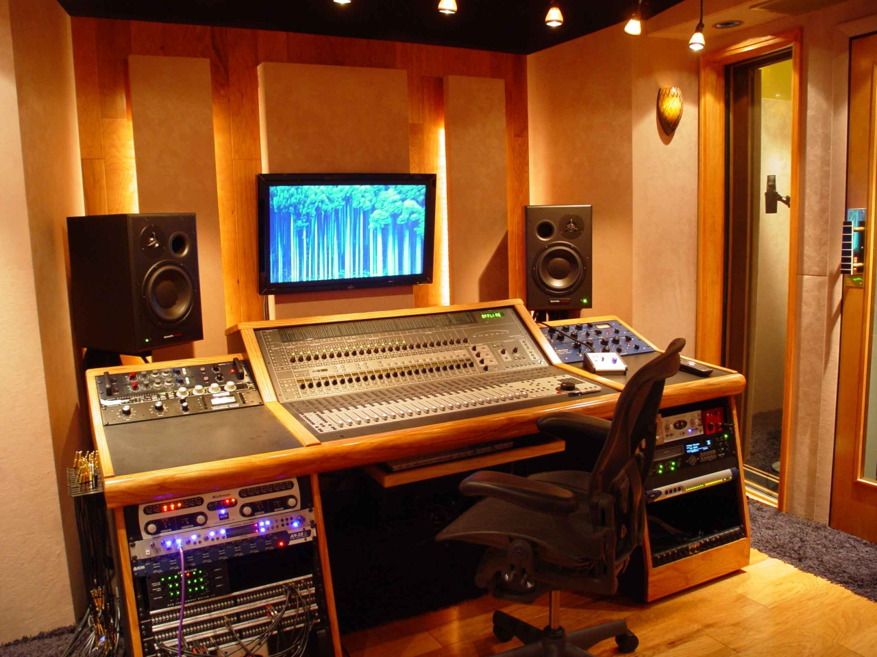 Studio Lighting Ideas Home Production Studios Blue Collar Builders