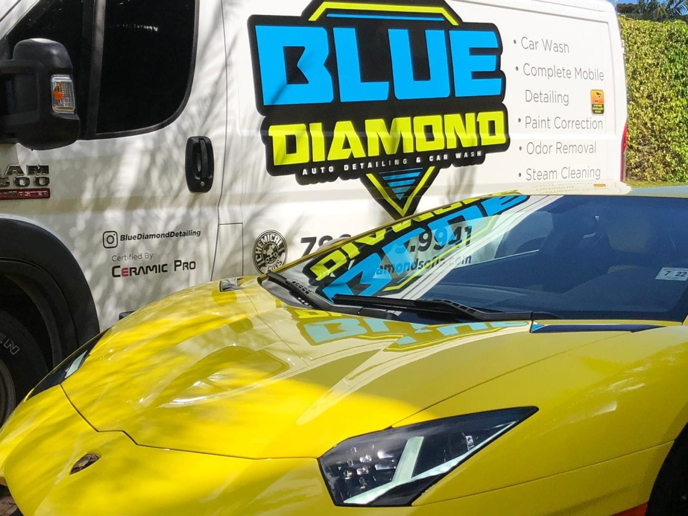 Auto Wash Mobile Car Wash Miami Blue Diamond Miami Car Detailing