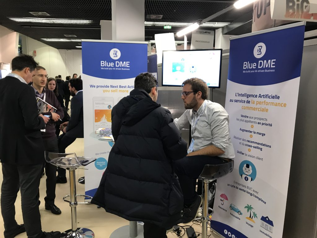Big Data Salon Blue Dme Au Salon Big Data Paris 2018 Gdpr Prédictif