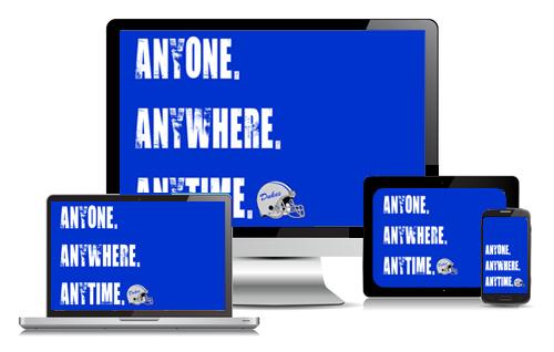 Anyone Anywhere Anytime\u003cbr/\u003eDownload Blue Dukes Wallpaper