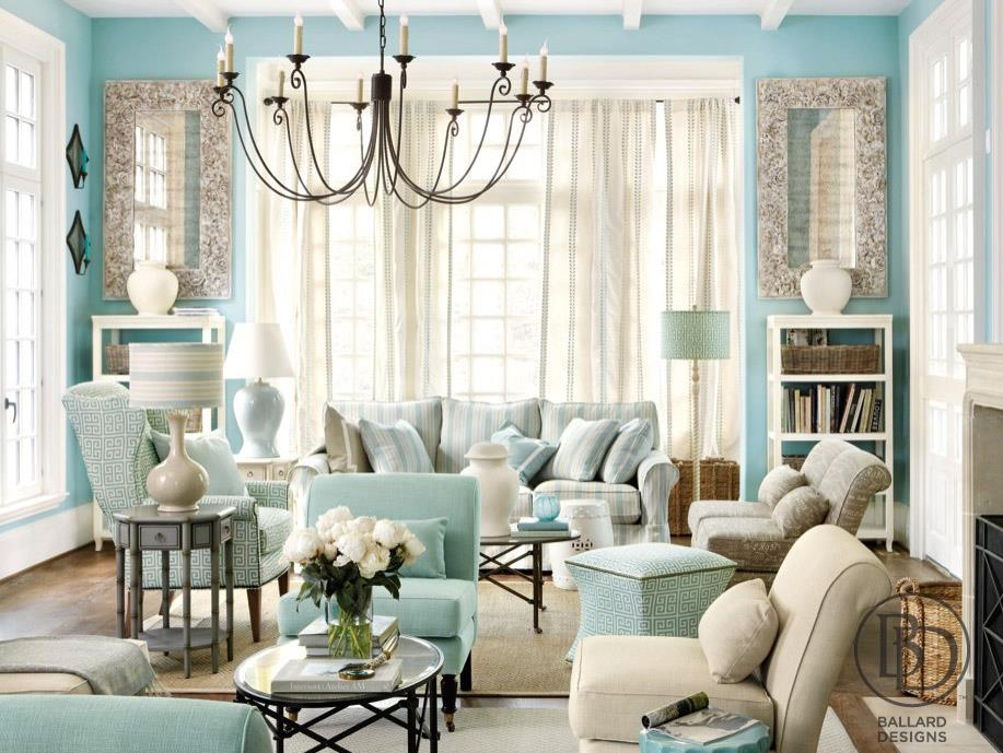 Favorite things friday tiffany blue - Tiffany blue and brown living room ...