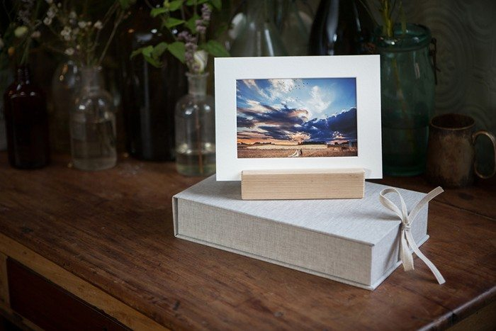 Hand made Wedding Prints Boxes from Bluefinch Photography - box prints