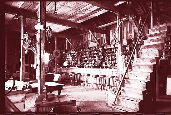 Saloon at Sutro, Nevada