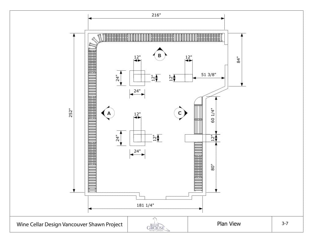 Cellar Door Plans Vancouver Canada Home Wine Cellar With Traditional And