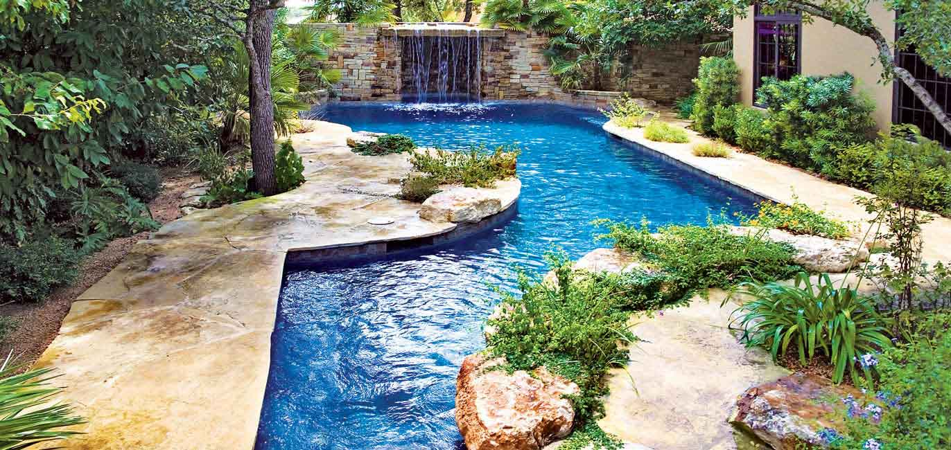 Jacuzzi Pool In Ground Custom Swimming Pool Spa Builders