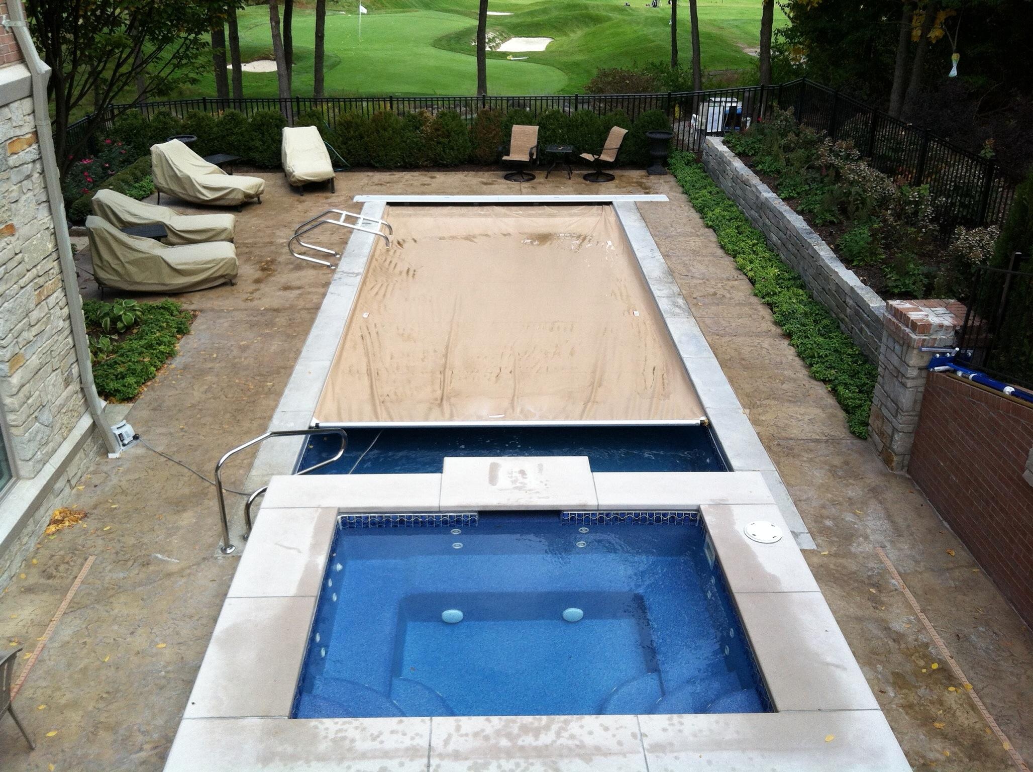 Blue Hawaiian Inground Pools Of Michigan Inground Swimming Pools In Michigan