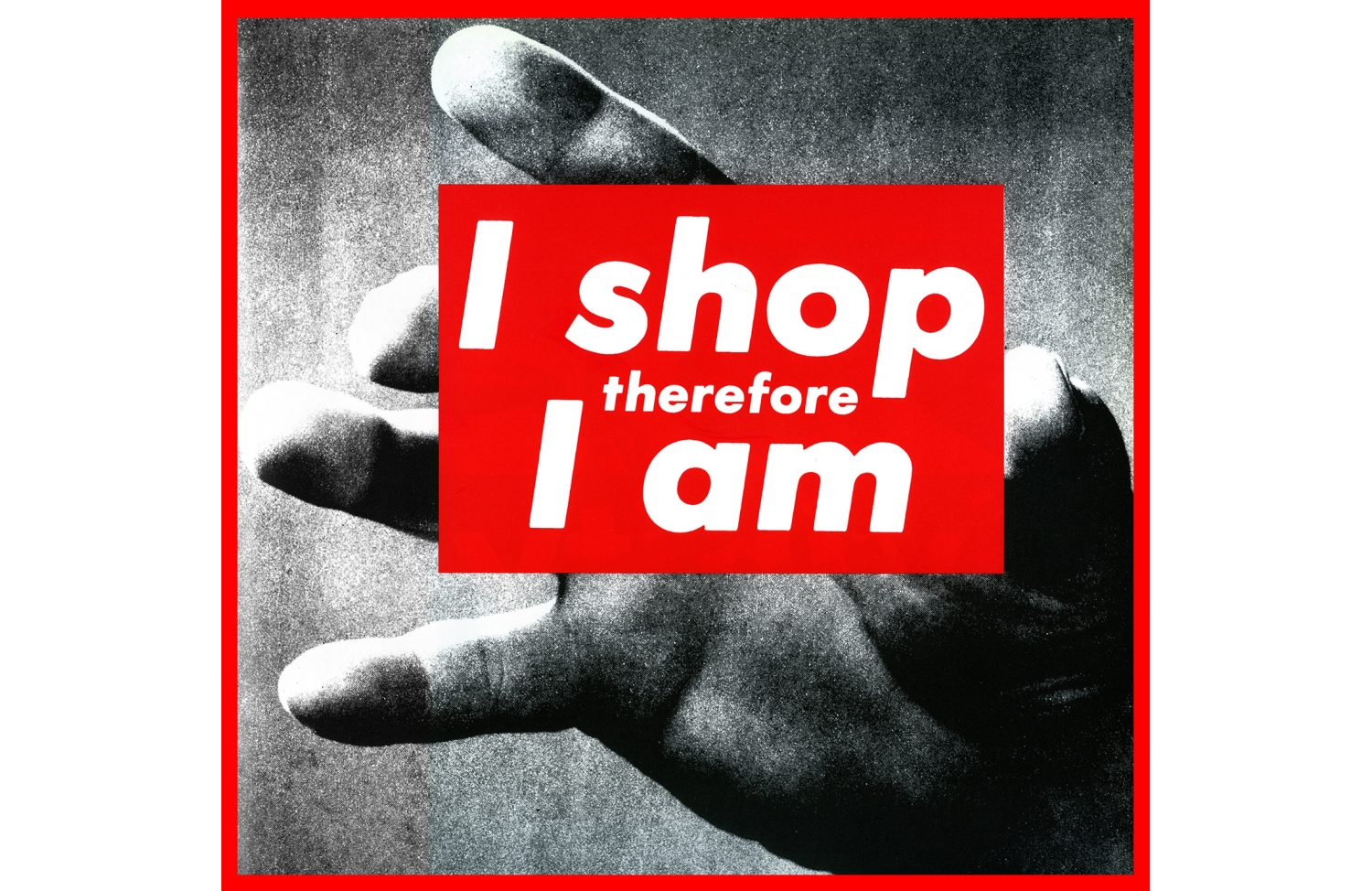 La Cucina Francese Fa Schifo Barbara Kruger S Art Blue Is In Fashion This Year Bloglovin