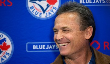 TORONTO, ON- FEBRUARY 4: John Gibbons spoke at a press conference prior to the Blue Jays state of the franchise event for season ticket holders that was held at the Rogers Centre Thursday night.        (Lucas Oleniuk/Toronto Star via Getty Images)