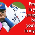 Some Totally Cheesy Blue Jays Valentines