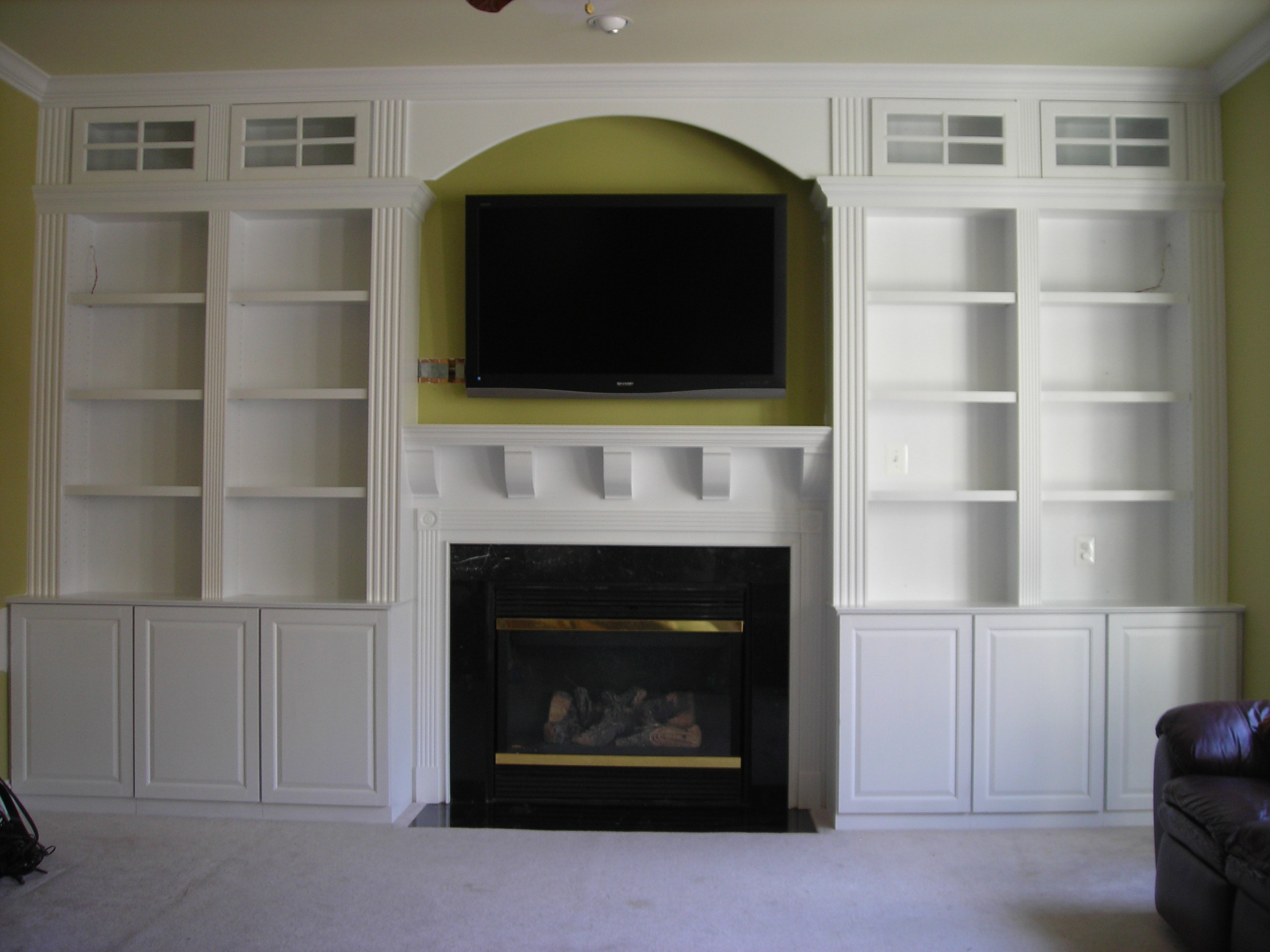 Pdf How To Build A Fireplace Surround For An Electric