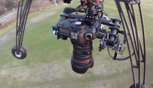 Carrying a full load of camera equipment