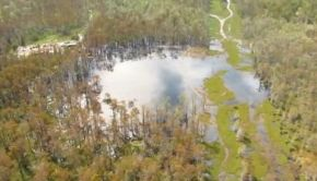 Louisiana Sinkhole 15 Oct 2012