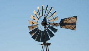 Windmill in Namibia